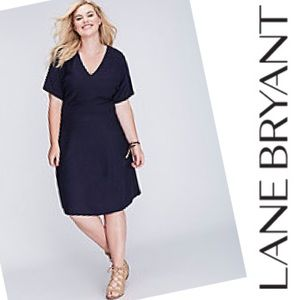 4863a10b5a Lane Bryant Short Sleeve Sweater Dress size 18 20